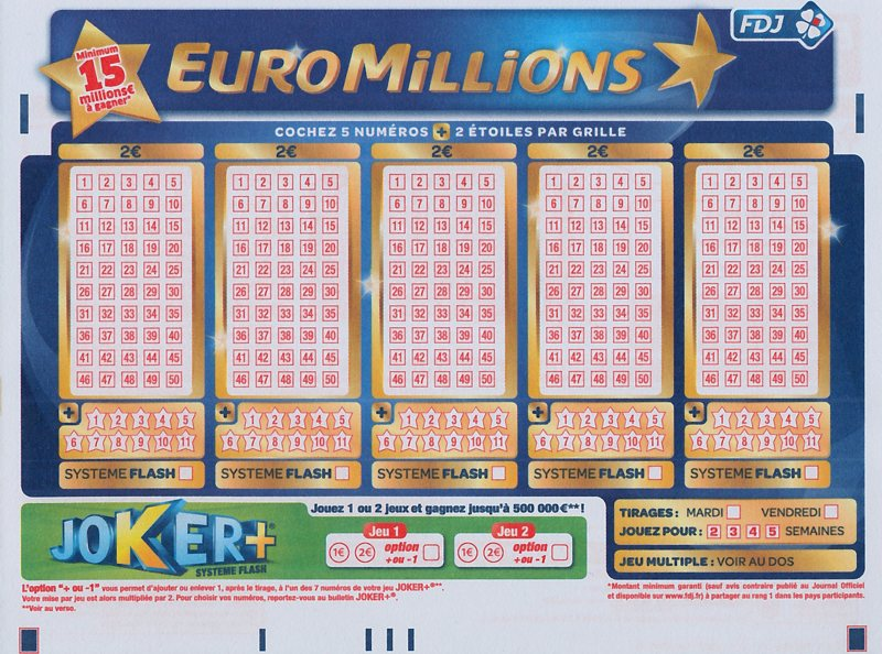 tous les changements du nouveau euromillions 10 mai 2011. Black Bedroom Furniture Sets. Home Design Ideas